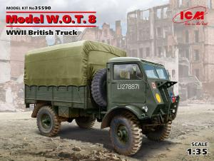Brytyjska ciężarówka Fordson WOT 8 ICM 35590