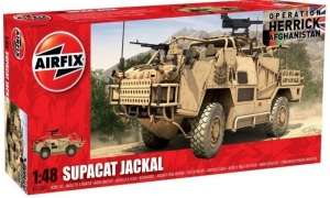 Brytyjski pojazd wojskowy Supacat HMT400 Jackal A05301