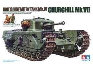Brytyjski czołg piechoty Mk.IV Churchill Mk.VII Tamiya 35210