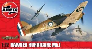 Brytyjski myśliwiec Hawker Hurricane MK.I Airfix A01010A