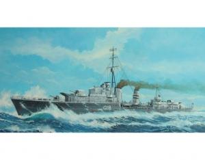 Brytyjski niszczyciel HMS Zulu (G18)1941 Trumpeter 05758