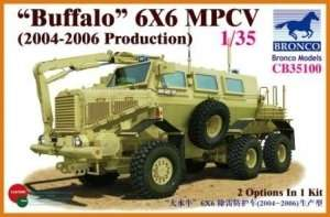 Buffalo 6x6 MPCV model Bronco CB35100