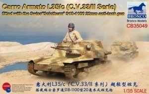 Carro Armato L35-c model Bronco CB35049