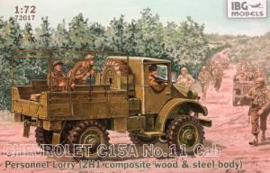 Ciężarówka Chevrolet C15A nr 11 72017