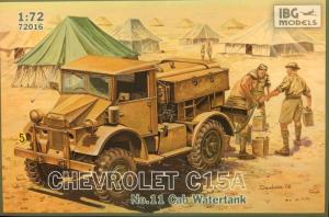 Ciężarówka Chevrolet C15A nr 11 ze zbiornikiem na wodę 72016
