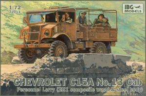 Ciężarówka Chevrolet C15A nr 13 72013