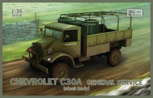 Ciężarówka Chevrolet C30A model 35038 skala 1-35
