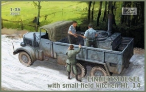 Ciężarówka Einheitsdiesel z kuchnią polową Hf.14 IBG 35007