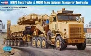 Ciężarówka M1070 z naczepą M1000 Hobby Boss 85502