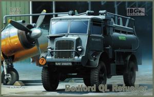 Ciężarówka cysterna Bedford QL skala 1-35 IBG 35062