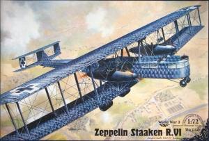 Ciężki bombowiec Zeppelin Staaken R.VI  Roden 050