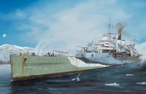 Ciężki krążownik HMS Kent Trumpeter 05352