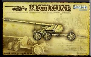 Ciężkie działo przeciwpancerne Rheinmetall 12,8 cm K44 L/55 Lion Roar L3523