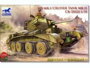 Czołg A13 Mk.I/Cruiser Tank Mk.III Bronco 35025