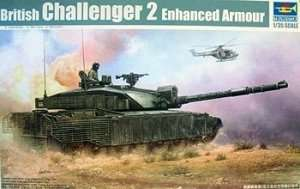 Czołg Challenger 2 Enhanced Armour Trumpeter 01522