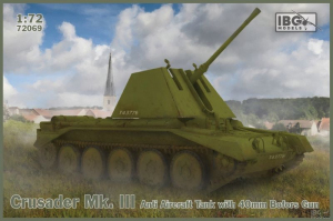 Czołg Crusader Mk. III model IBG 72069 skala 1:72