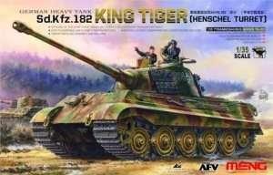 Czołg Kingtiger Sd.Kfz.182 z wieżą Henschel Meng TS-031