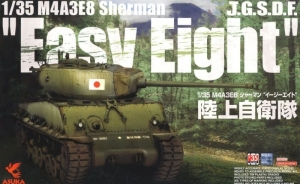 Czołg M4A3E8 Sherman Easy Eight JGSDF Asuka Model 35-024