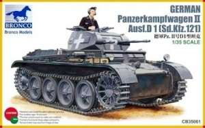 Czołg Panzerkampfwagen II Ausf.D 1 (Sd.Kfz.121)