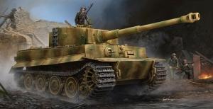 Czołg Pz.Kpfw.VI Ausf.E Sd.Kfz.181 Tiger I Trumpeter 09540