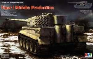 Czołg Sd.Kfz.181 Tiger I ausf.E Otto Carius full interior