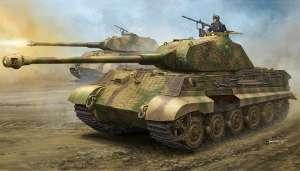 Czołg Sd.Kfz.182 King Tiger z wieżą Porsche i zimmeritem Hobby Boss 84530