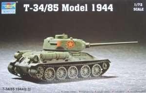 Czołg T-34/85 model 1944 Trumpeter 07207