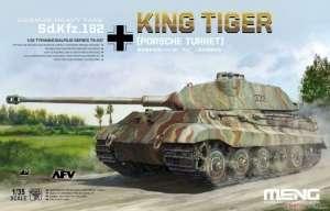 Czołg ciężki King Tiger z wieżą Porsche Meng TS-037