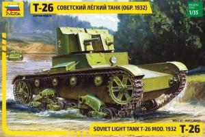 Czołg lekki T-26 Zvezda 3542