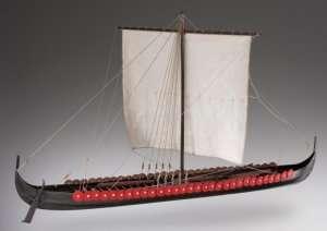 D005 Viking Longship drewniany model łodzi 1-35