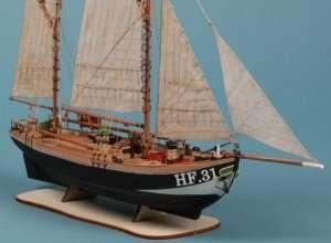 D016 Maria HF31 - drewniany model 1-72
