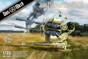Das Werk DW35004 Działo 3cm Flakverling 103/38 skala 1-35
