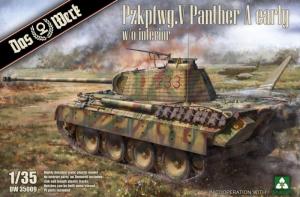 Das Werk DW35009 Czołg Pz.Kpfw. V Panther A model 1-35