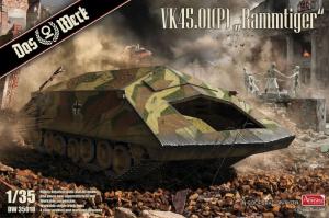 Das Werk DW35018 Pojazd VK45.01(P) Rammtiger model 1-35