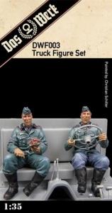 Das Werk DWF003 Figurki żywiczne do Faun L 900 skala 1-35