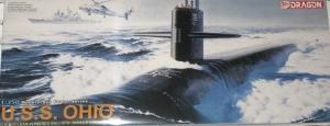 Dragon 1002 Okręt podwodny USS Ohio skala 1-350