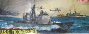 Dragon 1003 Krążownik rakietowy USS Ticonderoga CG-47