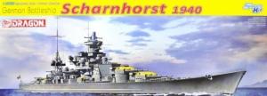 Dragon 1062 Pancernik Scharnhorst 1940 skala 1-350