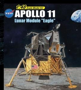 Dragon 11008 Apollo 11 moduł księżycowy Orzeł skala 1-48