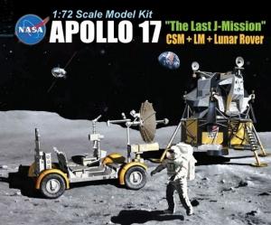Dragon 11015 Apollo 17 ostatnia misja łazik księżycowy