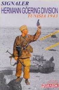 Dragon 1608 Signaler Hermann Goering Division Tunisia 1943