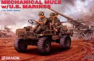 Dragon 3317 Mechanical Mule w/U.S. Marines