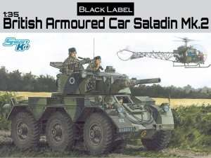 Dragon 3554 British Armored Car Saladin Mk.2