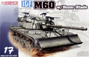 Dragon 3582 Czołg IDF M60 z lemieszem spycharki