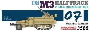 Dragon 3586 IDF M3 Halftrack w/TCM-20