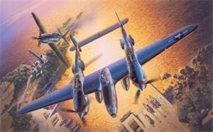 Dragon 5018 Samolot P-38J Lightning