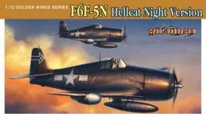 Dragon 5080 F6F-5N Hellcat, Night Version