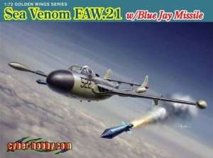 Dragon 5108 Sea Venom FAW.21 w/Blue Jay Missile