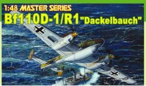 Dragon 5556 Samolot Messerschmitt Bf 110D-1/R1 Dackelbauch