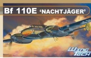 Dragon 5566 Samolot Bf 110E Nachtjager model 1-48